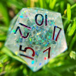 'Fragment of Possibility' Handmade Sharp Edge Gaming D20