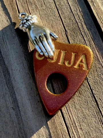Ouija Planchette Pendant Necklace