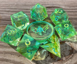 'ReFJORDged' Sharp Edge Gaming Dice Set