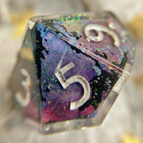 Tester D10 Sharp Edge Gaming Dice