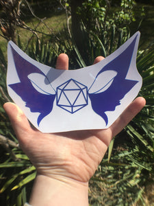 Holographic Vinyl Logo Sticker