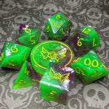 'Winnifred' Sharp Edge Gaming Dice Set