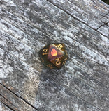 Caleb Inspired Color Shifting Handmade D20 Dice