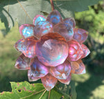 'Dusk' Iridescent Color Shifting Large Resin Crystal Hair Clip