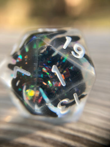 Fabulous Spiders from Outer Space D20 Gaming Dice