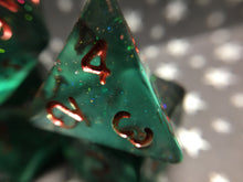 Load image into Gallery viewer, Savalierwood Critical Role Inspired Handmade Gaming Dice Set