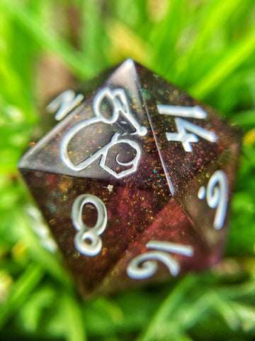 'Sedation' Handmade Sharp Edge Gaming D20