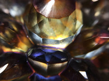 Load image into Gallery viewer, 'Alchemy' Color Shifting Resin Large Crystal Hair Clip