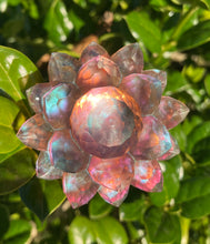 Load image into Gallery viewer, 'Dusk' Iridescent Color Shifting Large Resin Crystal Hair Clip