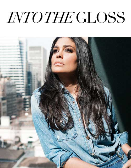 into the gloss Rachel Roy