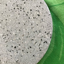 Load image into Gallery viewer, Grey Terrazzo Marble Round Trivet