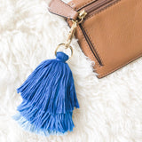 Multi Color Tassel Keychain