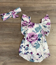 Load image into Gallery viewer, Springtime Floral Romper