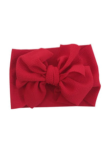 Big Bow Head Wraps
