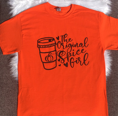 Original Pumpkin Spice Girl Tee (Adult)