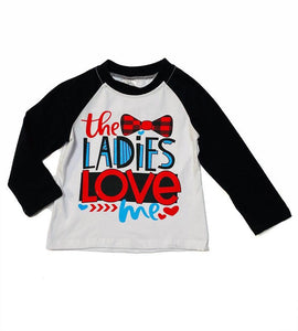 Ladies Love Me Raglan