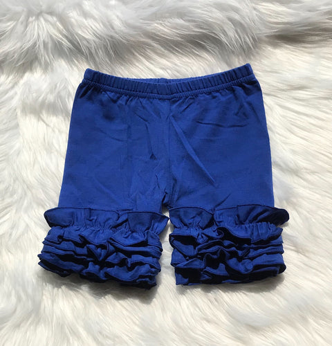 Royal Blue Icing Shorts