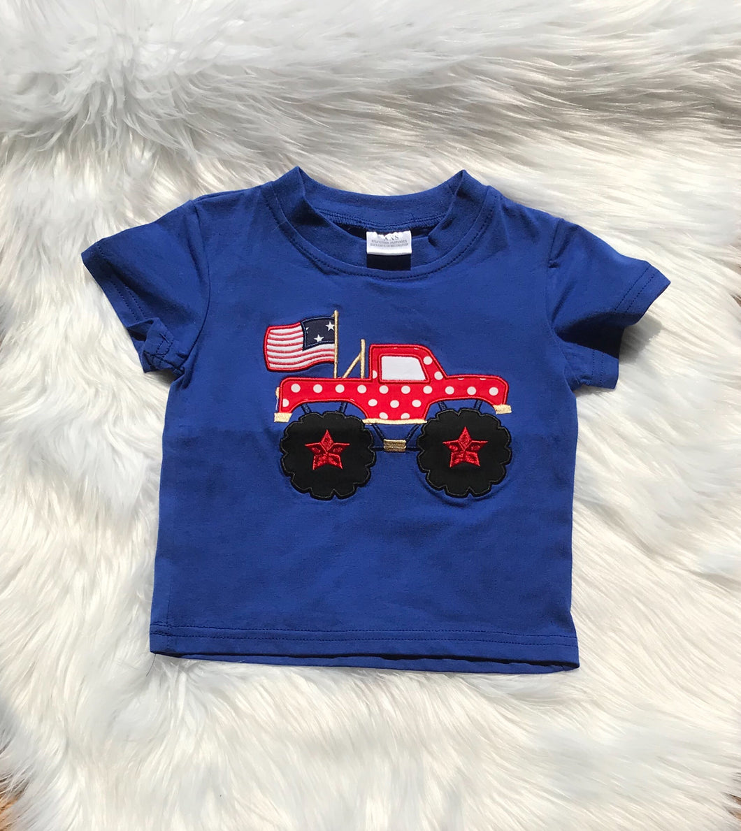 USA Monster Truck Tee