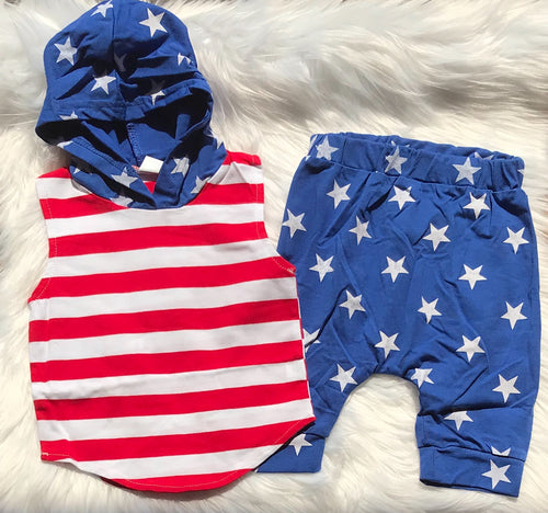 Stars & Stripes Set with Joggers