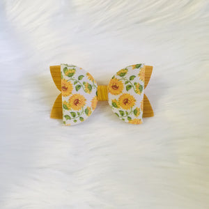 Spring Floral Bow Collection