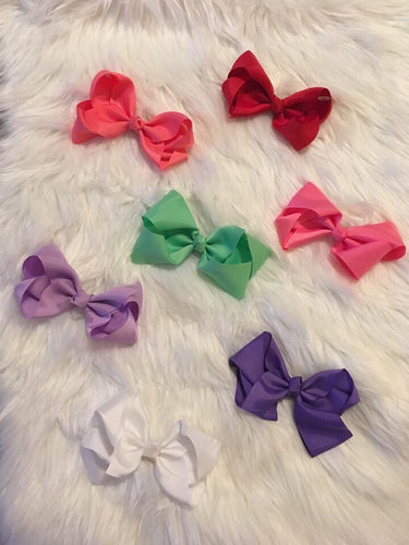 Grosgrain Ribbon Bows