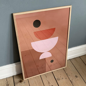 Balancing Act Poster Framed Curious Makers