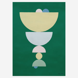 Circlet Green Poster | Curious Makers