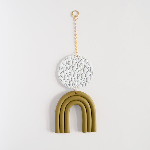 Mini Wall Hanging, Olive | Curious Makers
