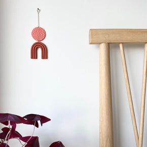 Mini Wall Hanging, Rust | Curious Makers