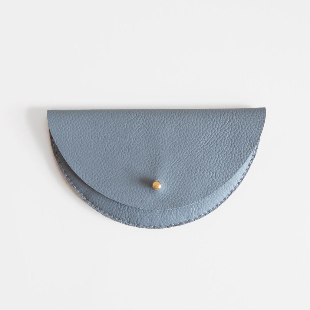 Colette Grande Coin Purse, Blue | Curious Makers