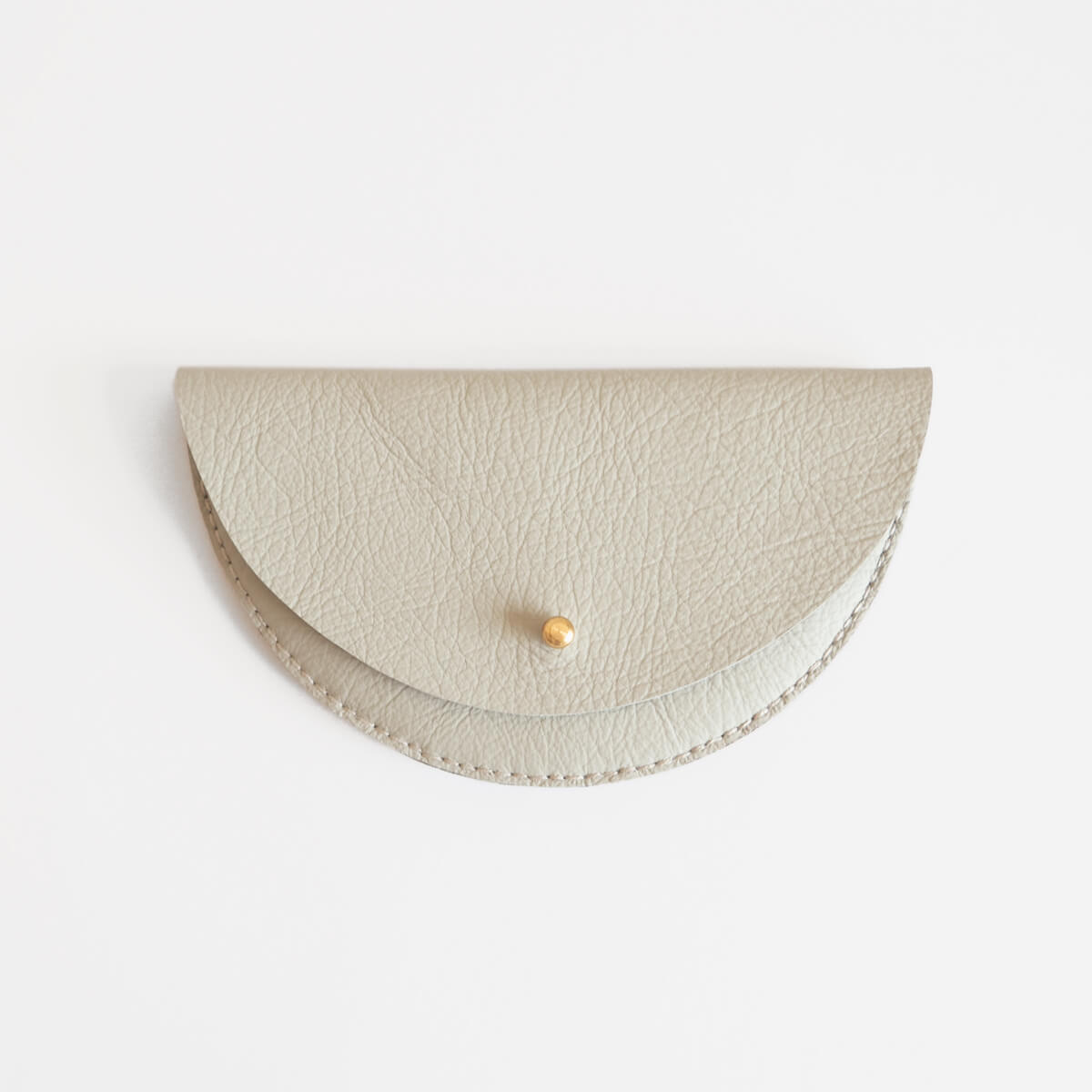 Colette Grande Coin Purse, Dove Grey | Curious Makers