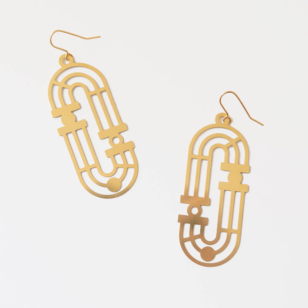 Lupa Earrings | Large Statement Earrings | Curious Makers