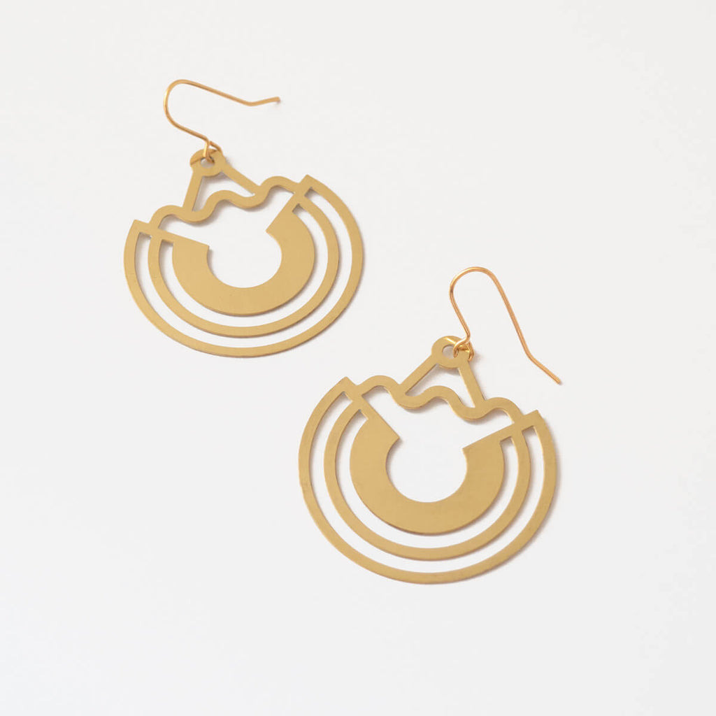 Opla Earrings | Statement Earrings | Curious Makers