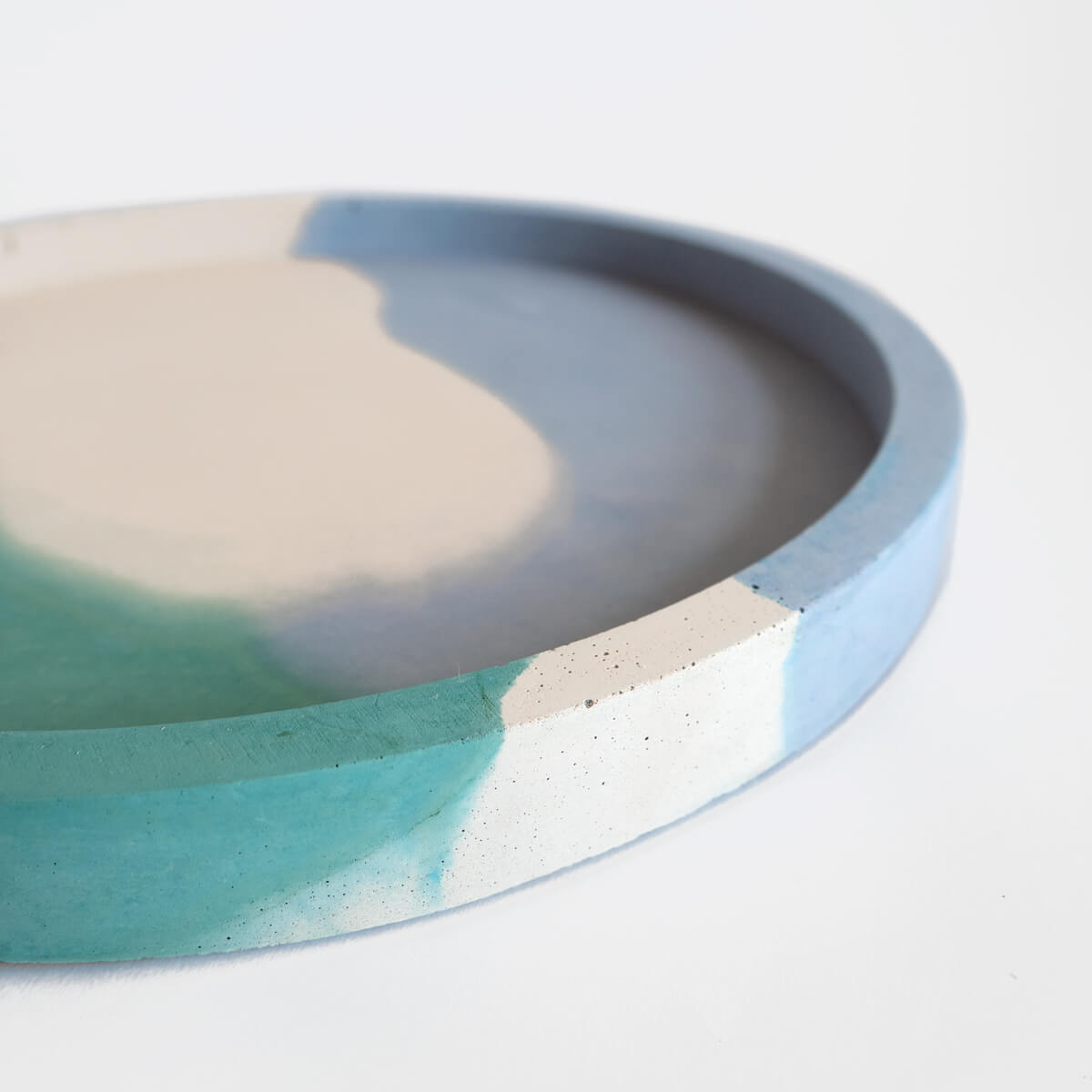 Large Round Concrete Tray | Curious Makers