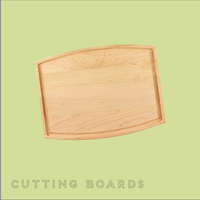 Custom cutting boards with your designs from Hello Laser Co.