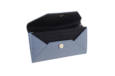 BLUE ENVELOPE WALLET