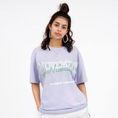 "Stay cool Tee ""Classic"" lilas"