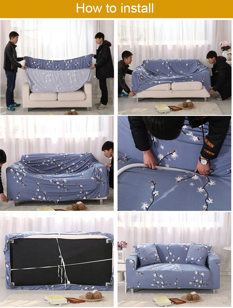 Couch Cover how to install