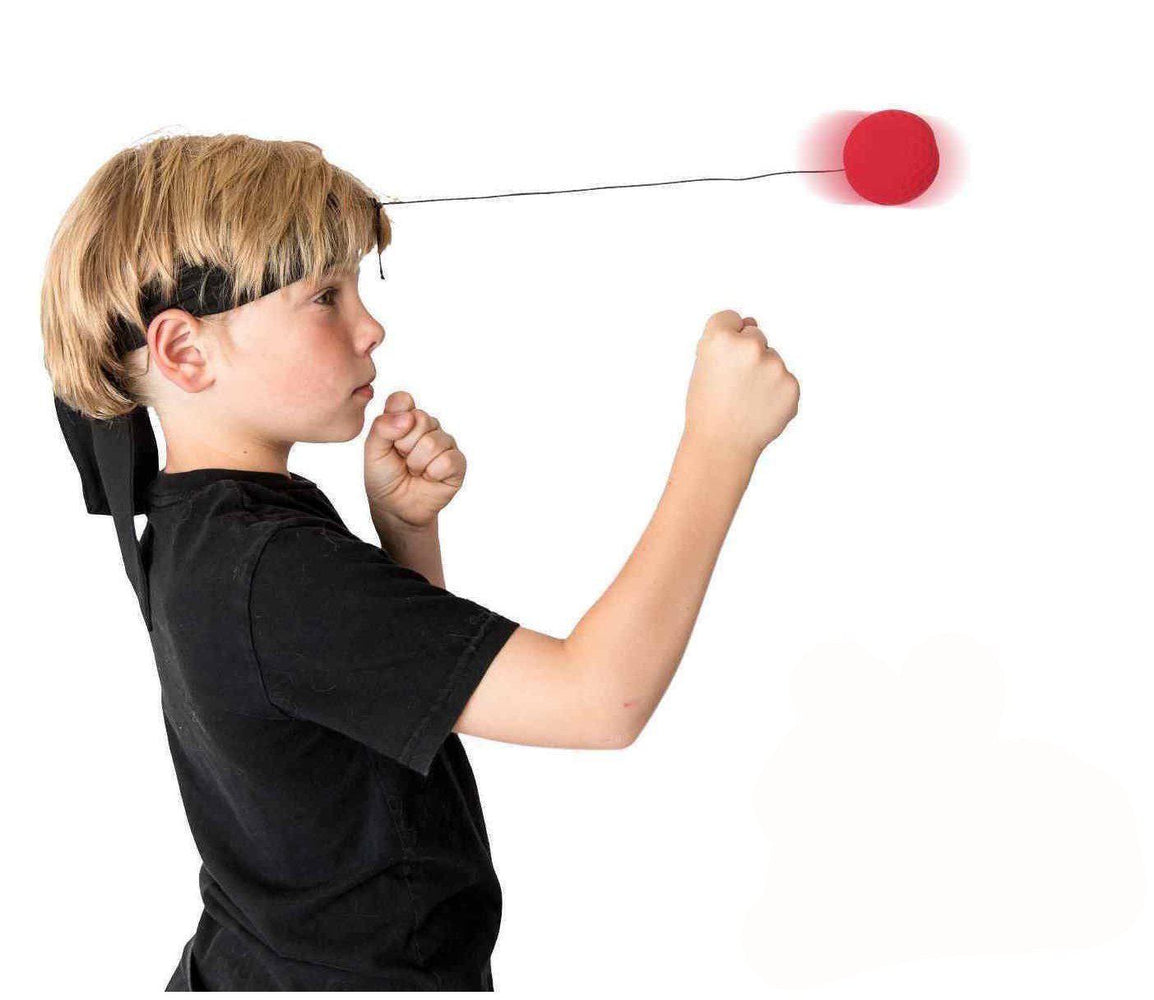Boxing Reflex Ball - Head-Mounted