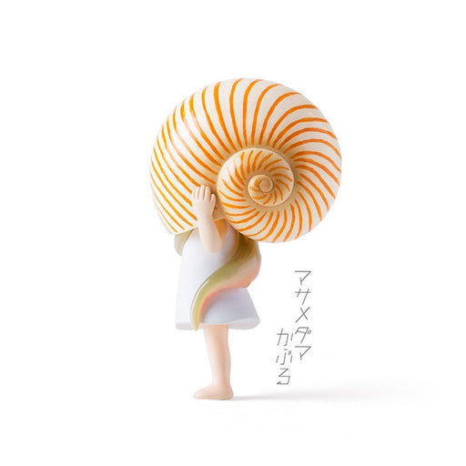 Japanese Kawaii Snail Girl Figurine