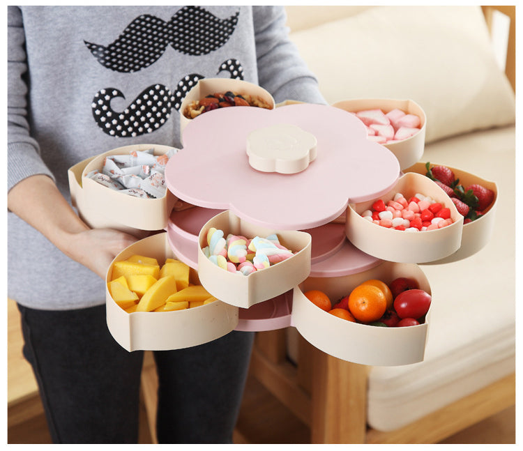 Expandable Flower Snack Box