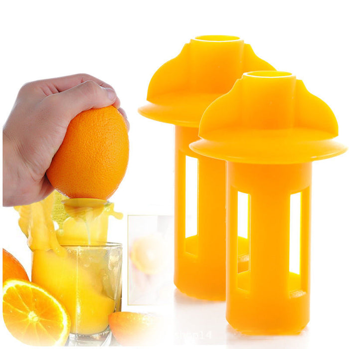 Mini Handheld Orange Juicer