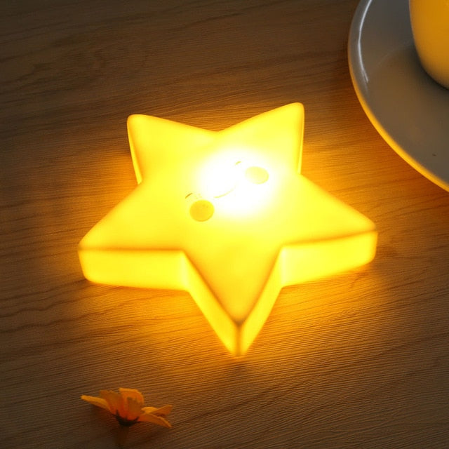 Unicorn Star Led Lamp
