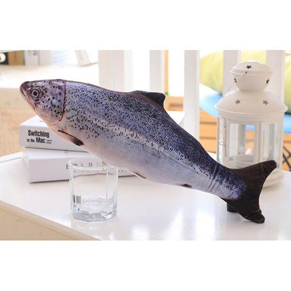 3D Carp Fish Shape Cat Toy