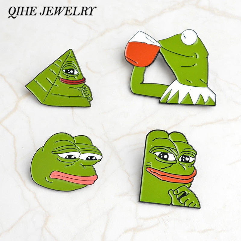 Pepe the Frog Pin