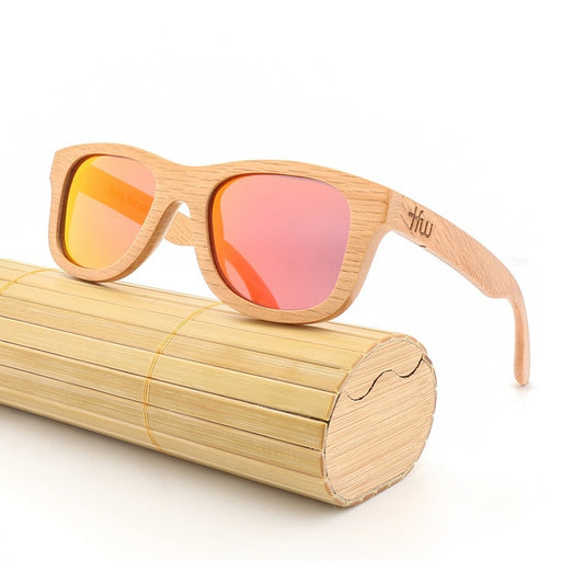 Bamboo Wooden Sunglasses - Polarized