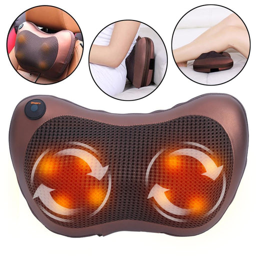 neck and back massage pillow