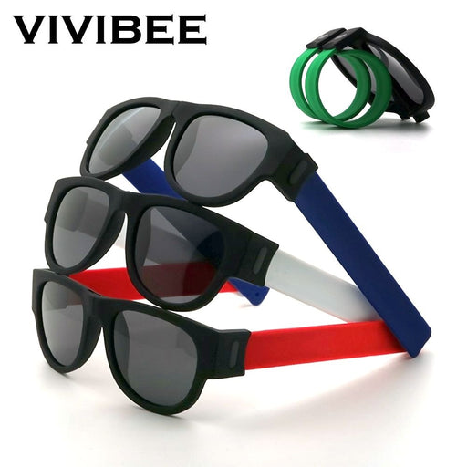 Folding Wristband Sunglasses