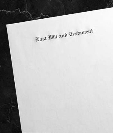 Engraved Will Papers