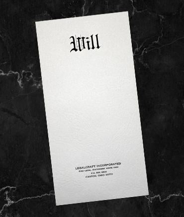 """Will"" Envelopes - 4 3/8 x 9 1/2"